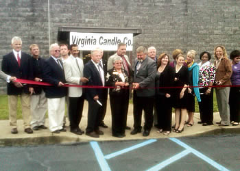 The consolidation will bring about 50 jobs to the Dan River Region on June 1, with the number of jobs reaching about 150 during the holiday season, said Jim Ramaker, president and CEO of Virginia Candle Company.