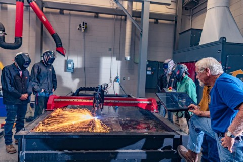 DCC to provide welding training to Morgan Olson employees